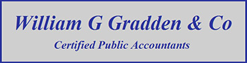 Logo Willian G Gradden CPA